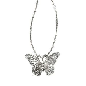 Brighton Crystal Solstice Butterfly NecklaceJL9611